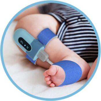 Viatom PO5 Baby véroxigénszint - Pulzusmérő készülék