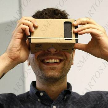 Virtuális valóság 3D Szemüveg Google Cardboard DIY VR