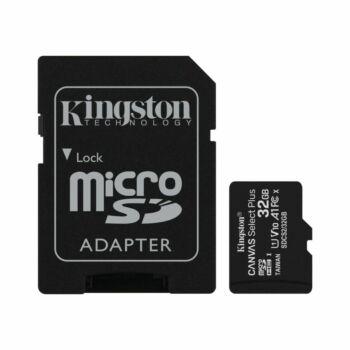 Kingston Memóriakártya 32GB MicroSD Class 10