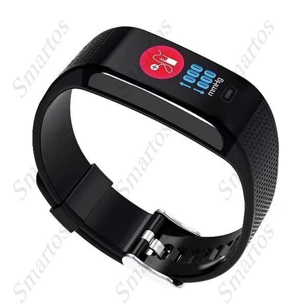 C18 Okoskarkötő Vérnyomásmérő és Pulzusmérő Fitness funkcióval